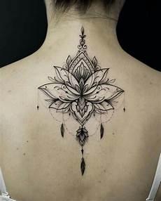 lenas mandala lotusblument 228 towierung daryl trug das - Rücken Mandala