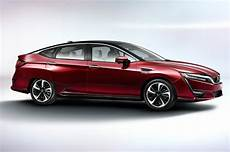 2017 Honda Clarity Fuel Cell Drive Review