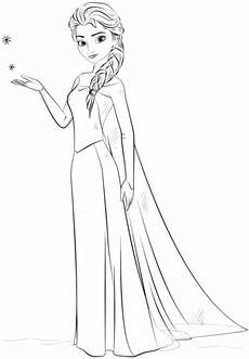 Malvorlagen Elsa Gratis Ausmalbild Elsa Aus Frozen Ausmalbilder Kostenlos Zum