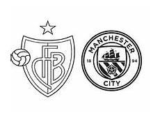 Ausmalbilder Fussball Manchester City Kleurplaat Real Madrid Logo