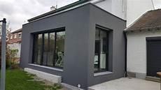 Extension Maison Nord Enduit Projet 233 Lille M L Extension