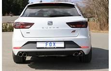 fox duplex sportauspuff seat 3 st cupra 300 4drive