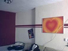 wohnzimmer streichen ideen streifen mit farbe wandmuster streichen kreative wandgestaltung