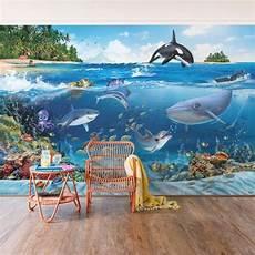 Unterwasser Tiere Malvorlagen Instagram Vliestapete Kinderzimmer Animal Club International