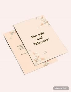 farewell card template ai 15 farewell card designs psd ai illustrator
