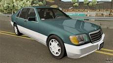 how make cars 1992 mercedes benz 300sd electronic toll collection mercedes benz s class w140 300sd 1992 us spec for gta san andreas