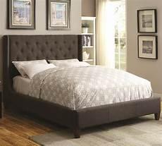 Kopfteil Bett Gepolstert - coaster upholstered beds 300453ke upholstered king bed