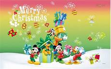 merry christmas mickey mouse wallpaper mickey mouse christmas wallpapers wallpaper cave