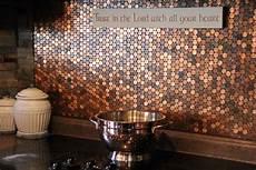 Copper Tiles For Kitchen Backsplash Kitchen Stove Backsplash For The Of Copper