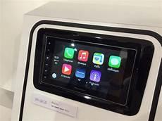 pioneer demos carplay enabled aftermarket receiver