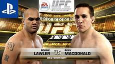 Ea Sports Ufc 189 Robbie Lawler V S Rory Macdonald Ps4