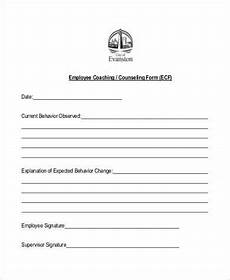 free 10 sle employee counseling forms in pdf word