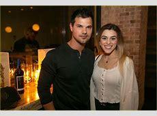Taylor Lautner & Girlfriend Tay Dome Wine & Dine in San