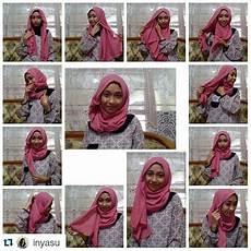 Tutorial Cara Memakai Jilbab Simple