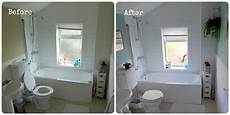 Bathroom Pictures Before And After by Bathroom Makeover Before After Make Do And Mend