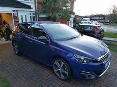 Peugeot 308 Gt Line Metallic Blue Condition