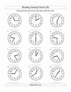 14 best images of 5 minute intervals worksheet math