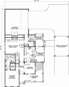porte cochere house plans traditional house plan with practical porte cochere