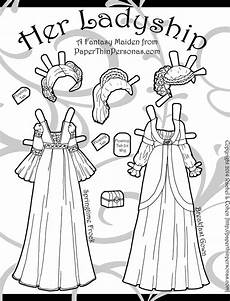 paper doll coloring pages 17642 ladyship archives paper thin personas
