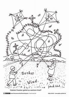 herbst drachen herbst vorschule herbst im kindergarten