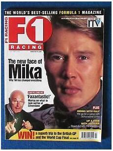 F1 Racing Magazine July 1998 Hakkinen Cover