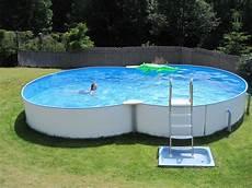Quot Swimmingpool Im Garten Quot G 228 Stehaus Sonneck Bischofsgr 252 N