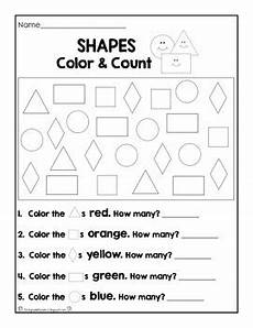 color by number shapes worksheets 16248 numbers colors and shapes worksheet set by grade fanatics