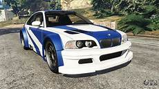 bmw m3 e46 gtr bmw m3 gtr e46 most wanted for gta 5