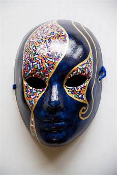 by tara nye in 2019 mask painting blue masquerade masks mens masquerade mask