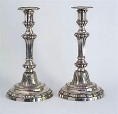 candelieri in argento coppia di candelieri in argento antiquariato su anticoantico