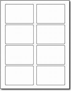 label template 8 per sheet printable label templates