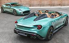 unique matching pair of aston martin vanquish zagatos
