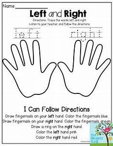 65 best left and right images in 2019 preschool activities kids learning learning activities
