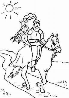 Ausmalbilder Prinzessin Und Ritter Kostenlose Malvorlage Ritter Und Drachen Ritter Und