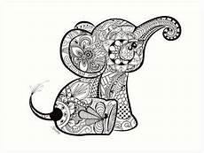 Ausmalbilder Erwachsene Elefant Quot Baby Elephant Doodle Quot Prints By Chrissy Hoff Hudson