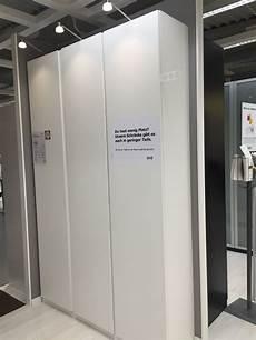 Schrank Ikea Pax Mit T 252 Ren Vikanes Keine Griffe Notwendig
