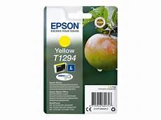 Epson T1294 Pomme Jaune Originale Cartouche D Encre