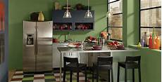 colorful kitchen green kitchen gallery behr