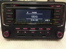 vw volkswagen original oem car radio rcn210 cd mp3 usb sd