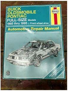 hayes auto repair manual 1995 pontiac grand prix on board diagnostic system haynes repair manual 1985 1995 buick oldsmobile pontiac full size cars 19020 a 9781563926259 ebay