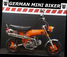 German Mini Biker - gmb sky team st50 6 skymax quot orange quot special edition