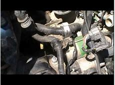 Removing Starter from Honda Civic   YouTube