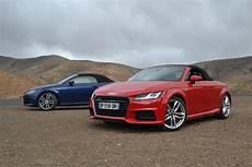 Essai Audi Tt Roadster Et Tts