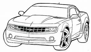Nice Looking Car Colouring Picture In Pictures Of Cars