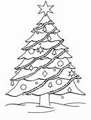Free Christmas Tree Coloring Pages – Wallpapers9