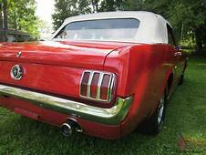 1965 Ford Mustang Convertible K Code 4 Speed Original