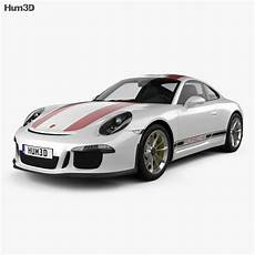 Porsche 911 R 991 2017 3d Model Vehicles On Hum3d