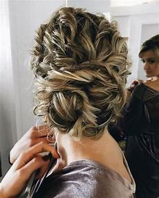 Updo Hairstyles For Curly Hair Wedding