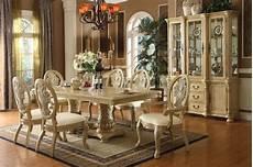 fresh white based dining antique white finish dining table w pedestal base