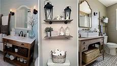 diy rustic shabby chic style bathroom decor ideas rustic